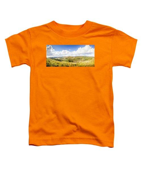 Western Tasmania Panorama Toddler T-Shirt