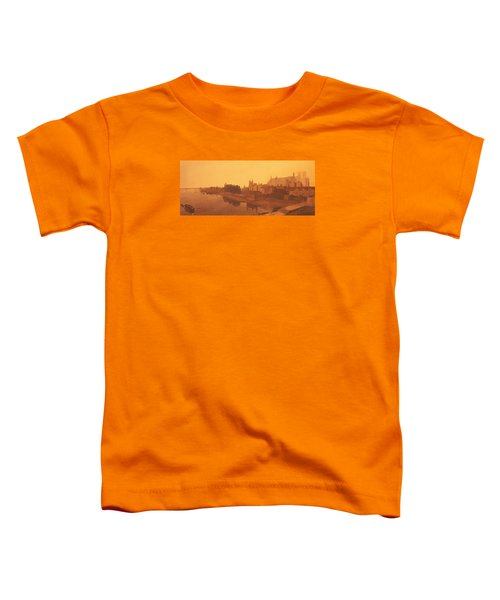 Westminster Abbey  Toddler T-Shirt by Peter de Wint