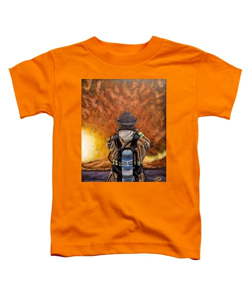 When Hell Comes To Visit Toddler T-Shirt