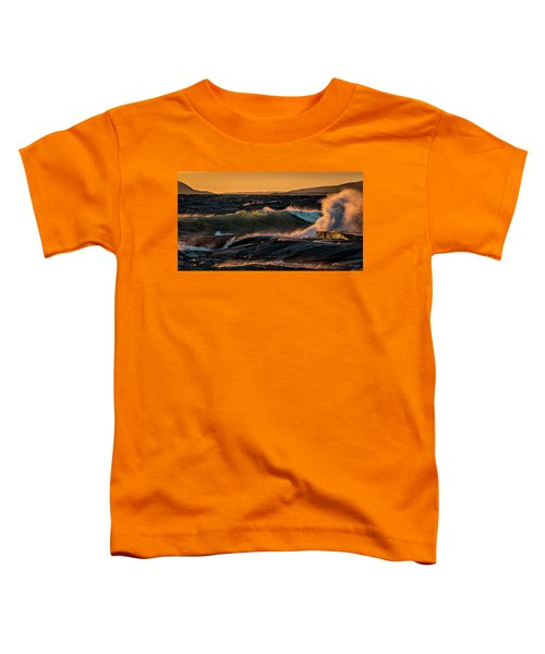 Toddler T-Shirt featuring the photograph Whipped by Doug Gibbons
