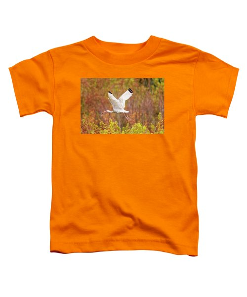 White Ibis In Hilton Head Island Toddler T-Shirt
