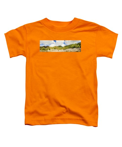 Wide West Coast Of Tasmania Toddler T-Shirt