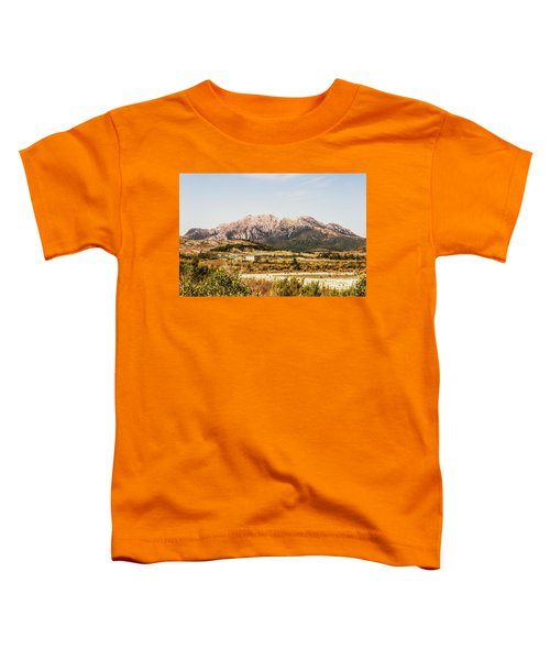 Wild Mountain Range Toddler T-Shirt