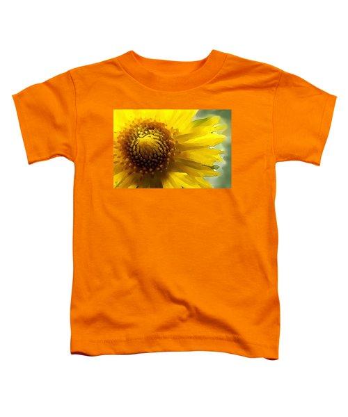 Wild Sunflower Up Close Toddler T-Shirt