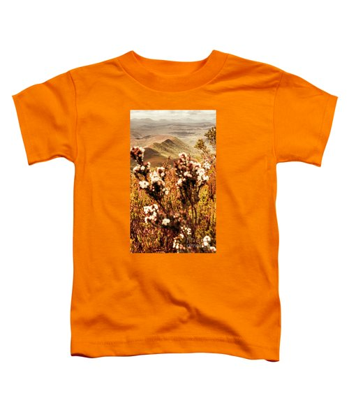 Wild West Mountain View Toddler T-Shirt