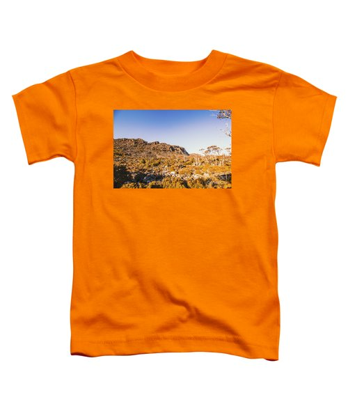 Wild Wilderness Of Stone Geology Toddler T-Shirt