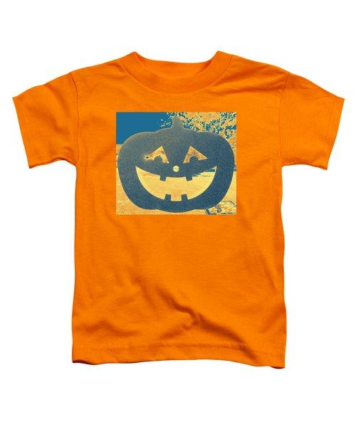 Window Pumpkin #2 Toddler T-Shirt