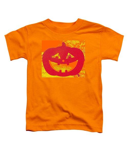 Window Pumpkin #4 Toddler T-Shirt