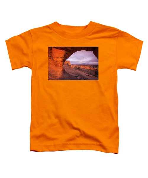 Window To Arch Toddler T-Shirt