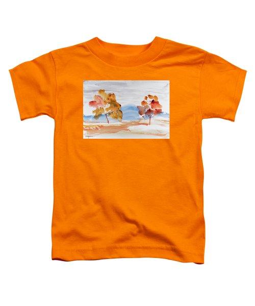 Windy Autumn Colours  Toddler T-Shirt