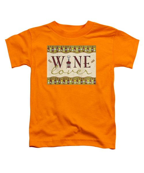 Wine Lover Toddler T-Shirt