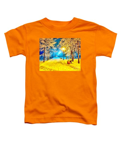 Winter Street Toddler T-Shirt