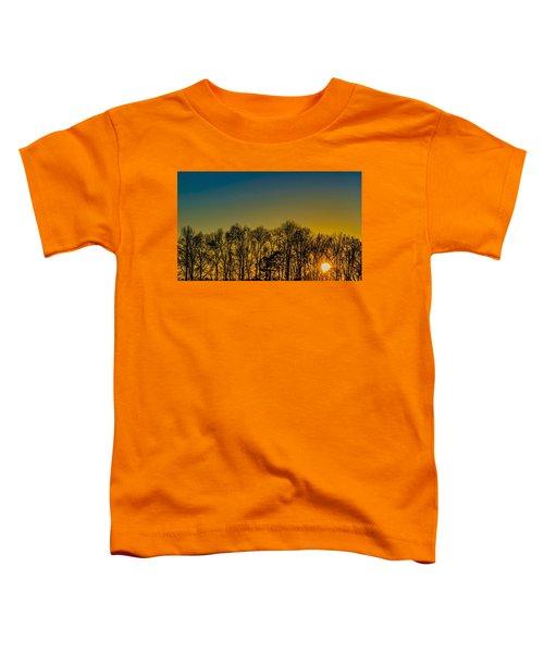 Winter Sunset Toddler T-Shirt