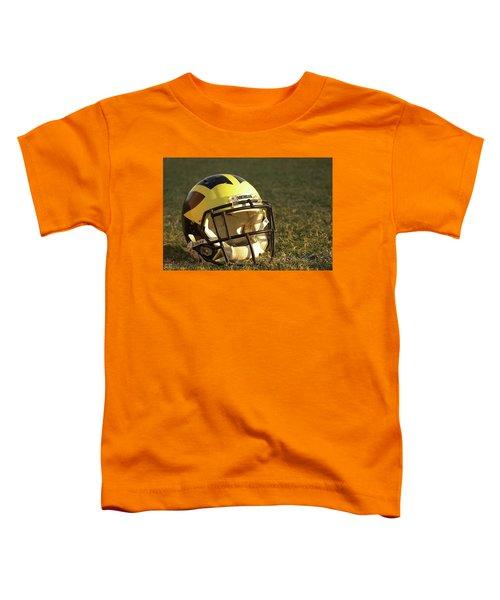 Wolverine Helmet In Morning Sunlight Toddler T-Shirt