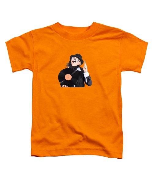 Woman Disc Jockey Toddler T-Shirt