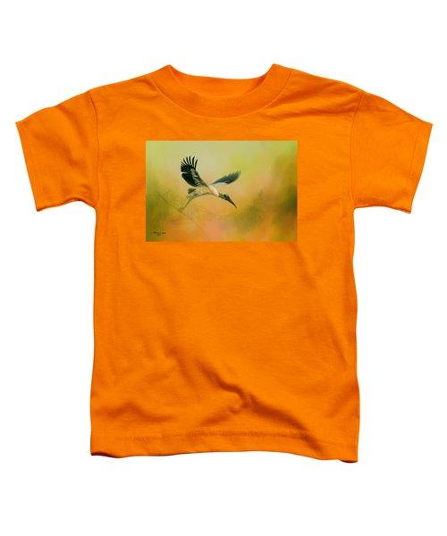 Wood Stork Encounter Toddler T-Shirt