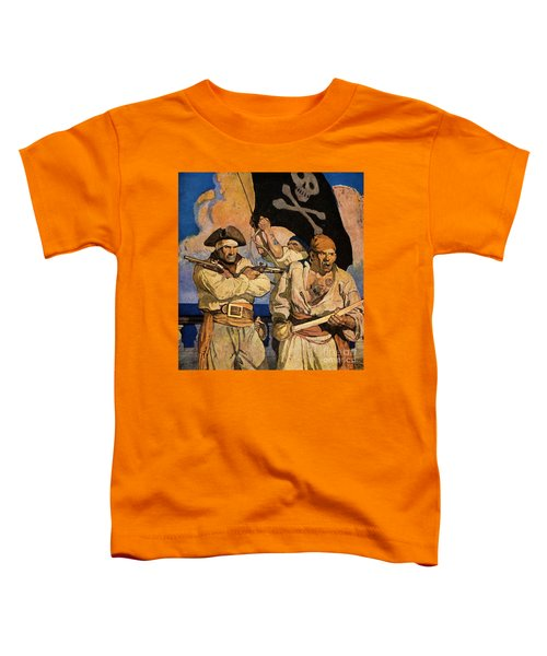 Wyeth: Treasure Island Toddler T-Shirt