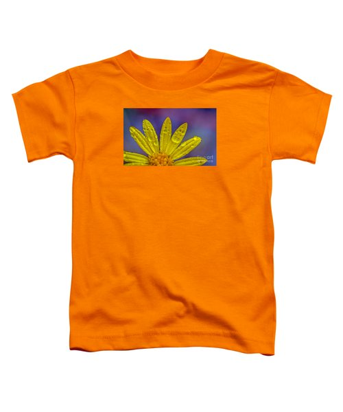 Yellow And Dew Toddler T-Shirt