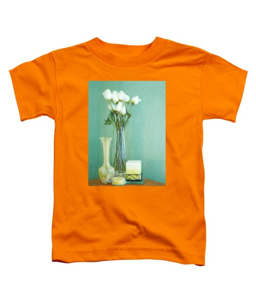 Yellow And Green Toddler T-Shirt