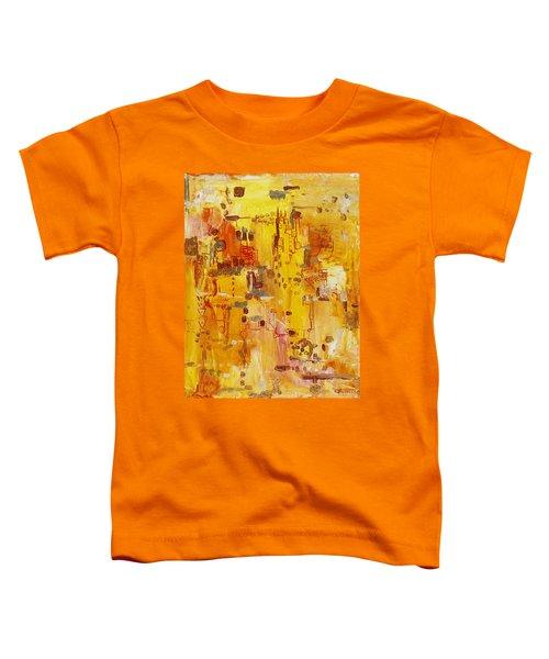 Yellow Conundrum Toddler T-Shirt