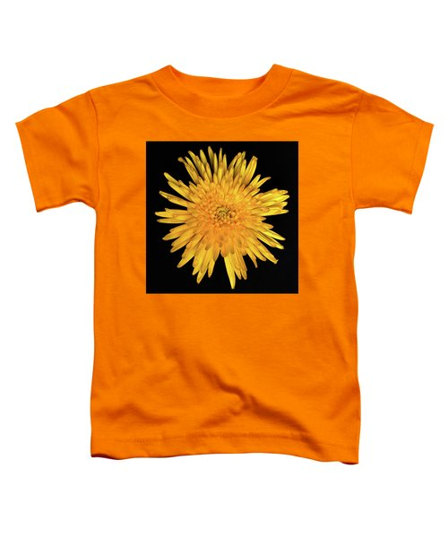 Yellow Flower Macro Toddler T-Shirt