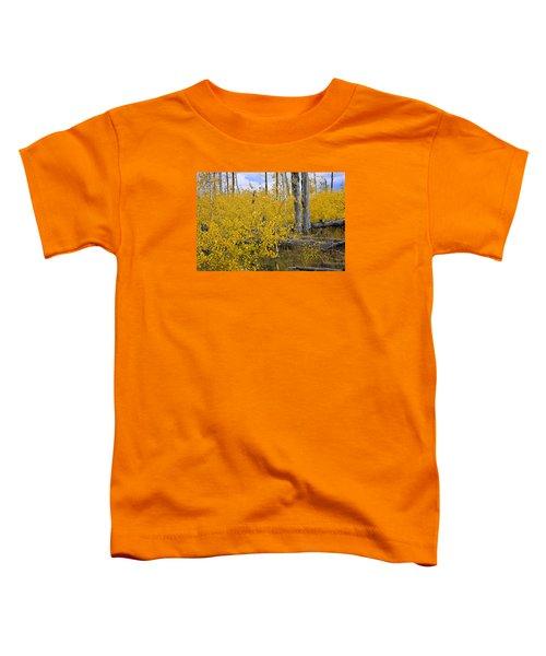 Yellow In Grand Teton Toddler T-Shirt