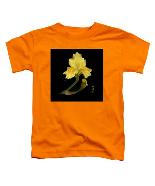 Yellow Iris Toddler T-Shirt