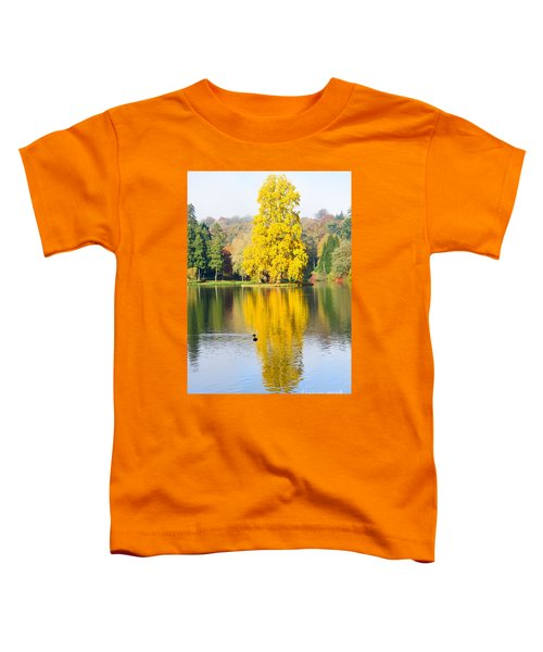 Yellow Tree Reflection Toddler T-Shirt