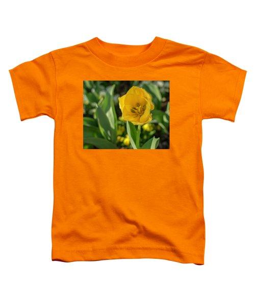 Yellow Tulip Toddler T-Shirt