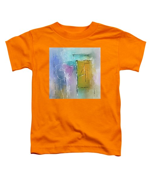 Yellows And Blues Toddler T-Shirt