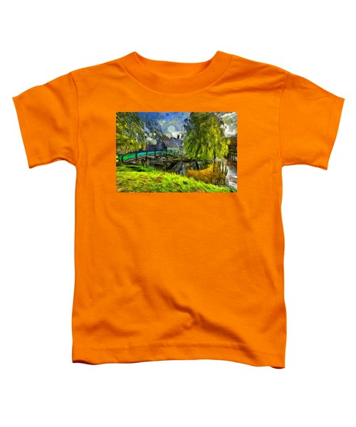 Zaanse Schans Toddler T-Shirt
