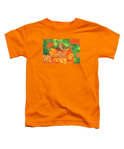 Zinnia Runway Toddler T-Shirt