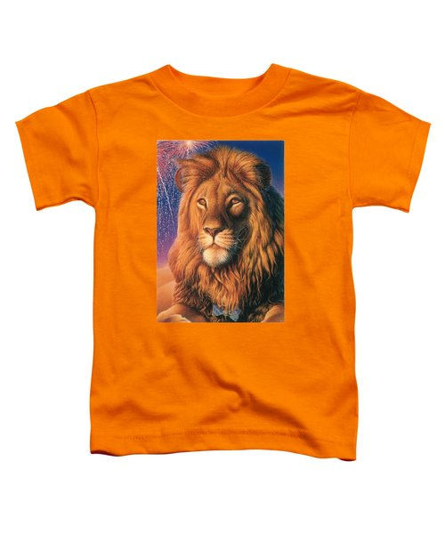 Zoofari Poster The Lion Toddler T-Shirt