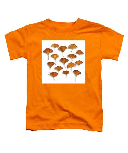 Gingkos Fall Toddler T-Shirt