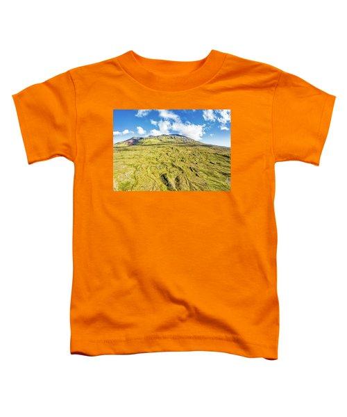 Snowcapped Volcano II Toddler T-Shirt