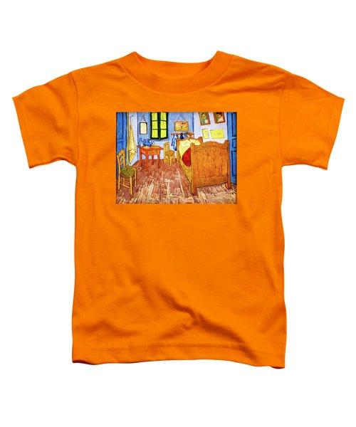 Van Gogh's Bedroom Toddler T-Shirt