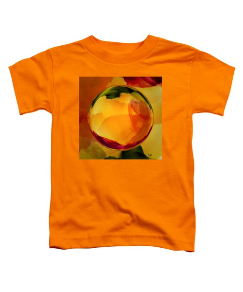 Watercolor Glass Marble  Toddler T-Shirt