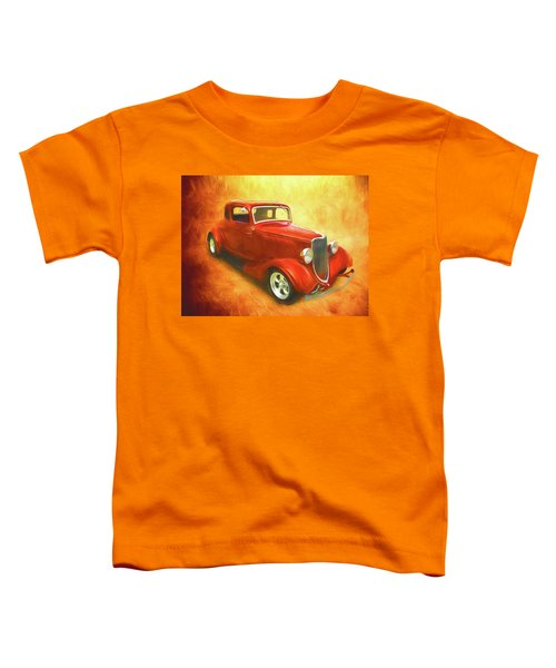 1934 Ford On Fire Toddler T-Shirt