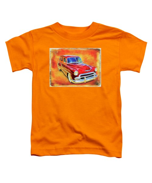1951 Chevy Woody Toddler T-Shirt