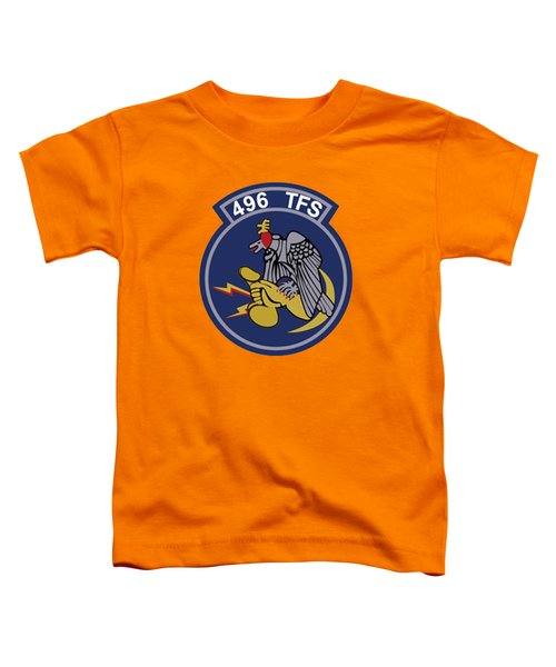 496th Tactical Fighter Squadron  Toddler T-Shirt