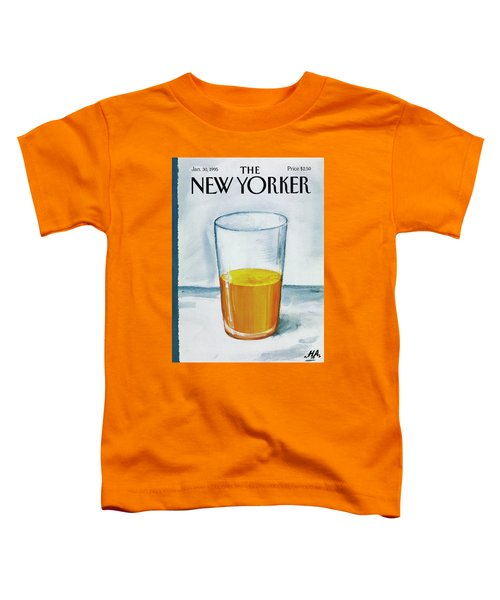 A Bit Of Oj To Start The Day Toddler T-Shirt