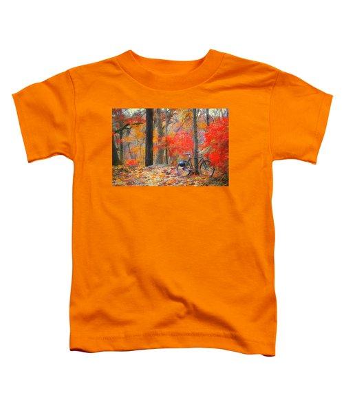A Nice Place To Stop Toddler T-Shirt