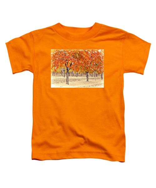 A Touch Of Winter Toddler T-Shirt
