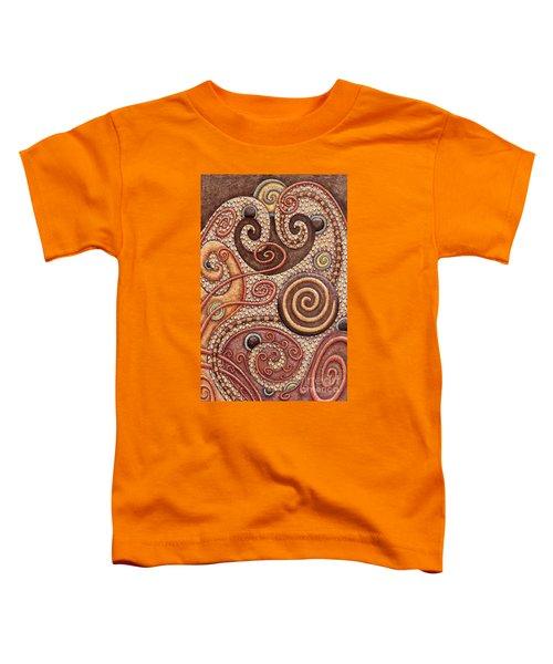 Abstract Spiral 2 Toddler T-Shirt