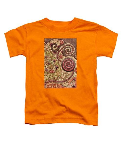 Abstract Spiral 4 Toddler T-Shirt
