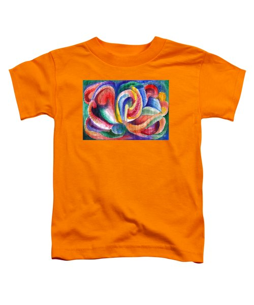 Abstraction Bloom Toddler T-Shirt