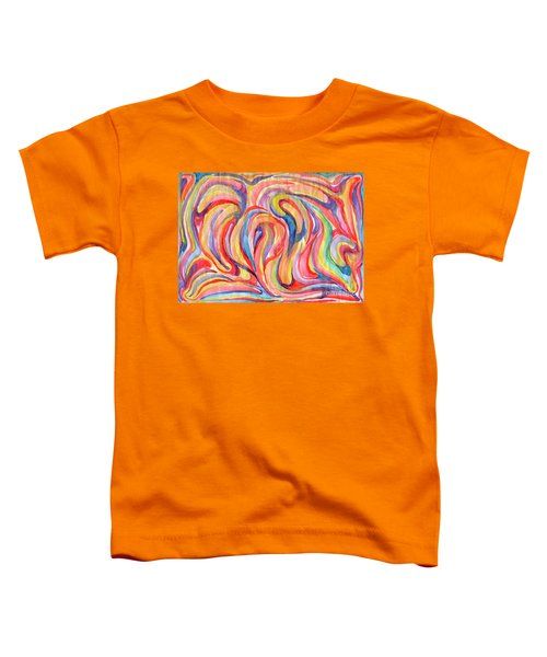 Abstraction In Autumn Colors Toddler T-Shirt