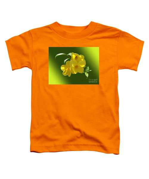 Allamanda Splendor Toddler T-Shirt