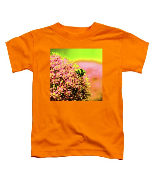 Allium With Bee 1 Toddler T-Shirt
