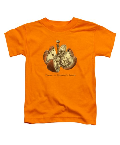 Steampunk Orange Toddler T-Shirt